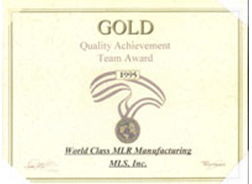 Quality Achievement Team Award