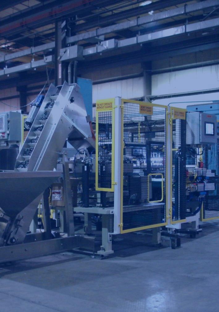 Custom designed & built machinery